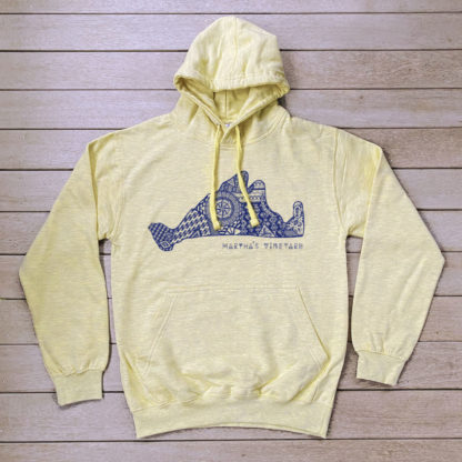 Yellow AZTEC Surf Collection Hoodie